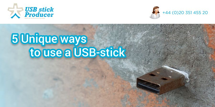 5 Unique ways to use a USB-stick