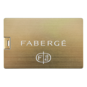 Credit card gold - USB Flash Drive